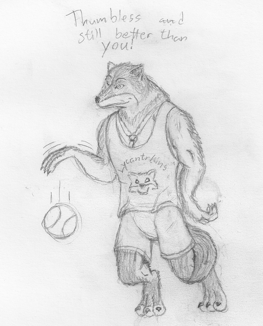Basketball player by