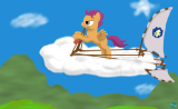On her way to Cloudsdale - thumbnail